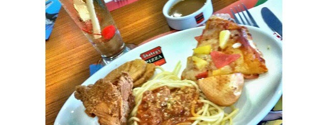Shakey's is one of fave spot.