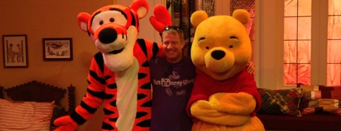 Pooh & Friends Meet & Greet is one of Epcot World Showcase.