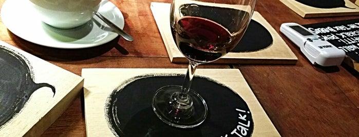 Talk Talk Wine Bar is one of Penang List.