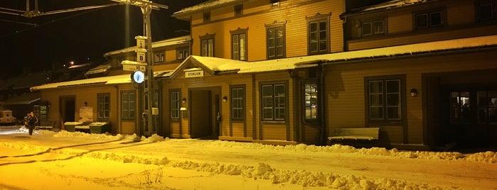 Storlien Station is one of Tågstationer - Sverige.