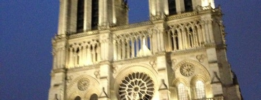 Cathedral of Notre Dame de Paris is one of Europe 2013.