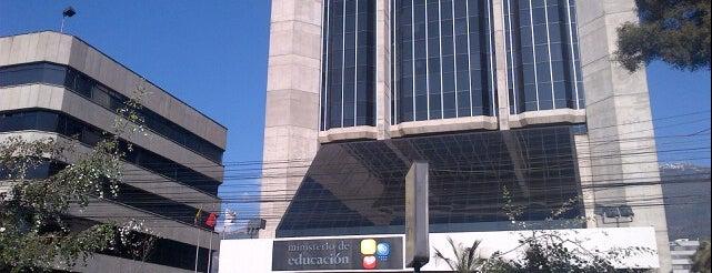 Ministerio de Educación is one of Quito.