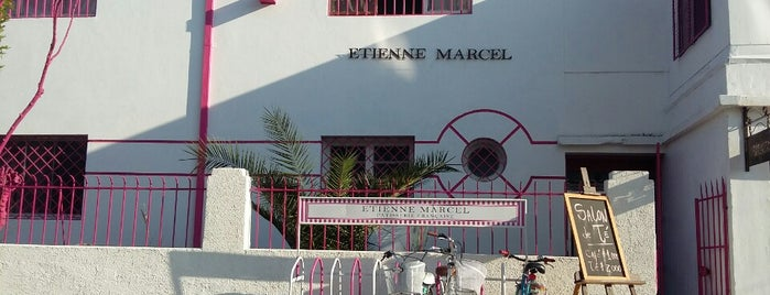Etienne Marcel is one of Stgo. City.