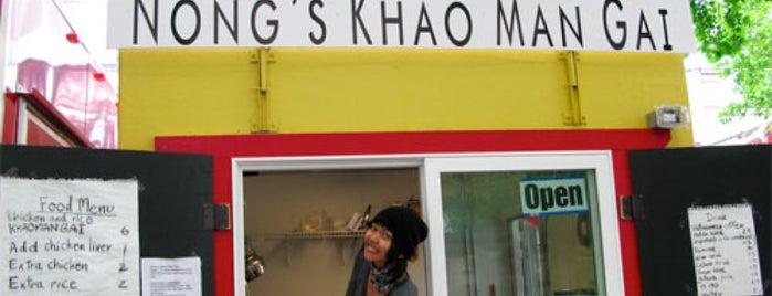 Nong's Khao Man Gai is one of Dan's Portland.