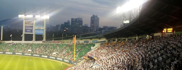 Jamsil Baseball Stadium is one of 4sq Cities! (Asia & Others).