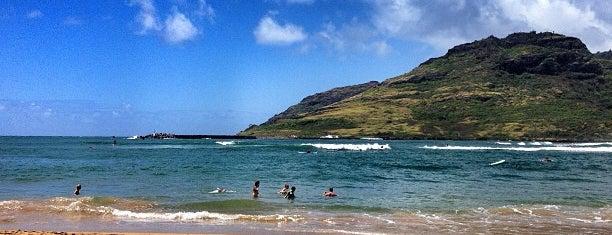 Kalapaki Beach is one of Kauai Favorites.
