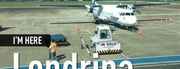 Check-in Azul is one of Aeroporto de Londrina (LDB).