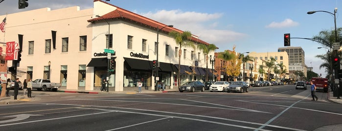 Old Town Pasadena is one of Recommendations from you to me 4square and 4cast.