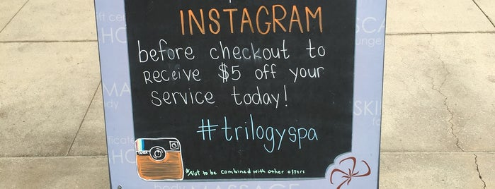 Trilogy Spa is one of Los Angeles City Guide.