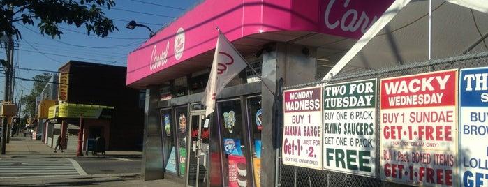 Carvel Ice Cream is one of I Scream badge- New York.