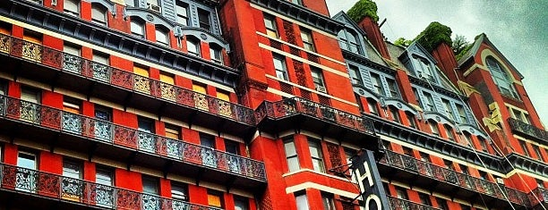 Hotel Chelsea is one of New York.