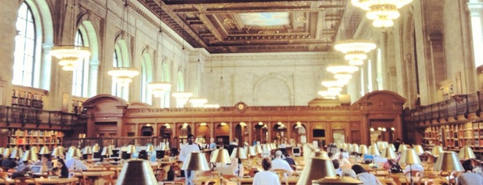 New York Public Library is one of Must go in NY.