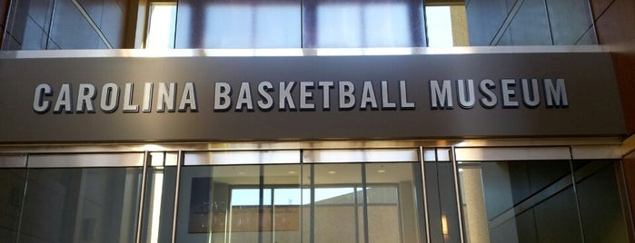 The Carolina Basketball Museum is one of Science, Art & History.