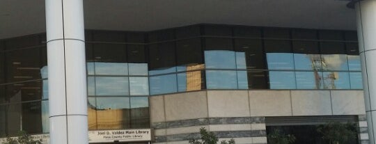 Joel D. Valdez Main Library is one of My Faves.