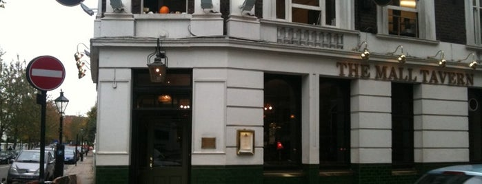 The Mall Tavern is one of Best Pubs in London.