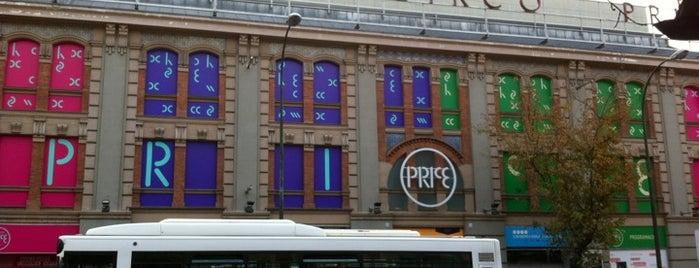 Teatro Circo Price is one of Teatros de Madrid.