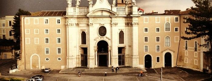 Basilica di Santa Croce in Gerusalemme is one of Basílicas de peregrinação.