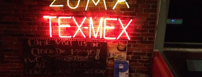 Zuma Tex-Mex Grill is one of Top 10 dinner spots in Boston, MA.