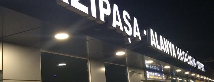 Gazipaşa - Alanya Havalimanı (GZP) is one of Havalimanları.