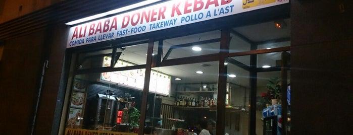 Ali Baba Döner Kebab is one of A comer y a beber.