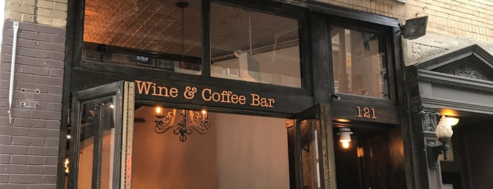 River Coyote is one of Espresso - Manhattan < 23rd.