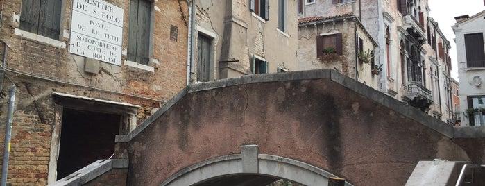 Ponte de le tette is one of Venice.