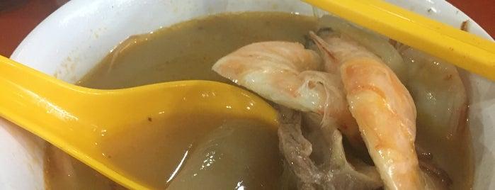 知味鲜大虾面 Fresh Taste Big Prawn Noodle is one of Hole-in-the-Wall finds by ian thomtori.