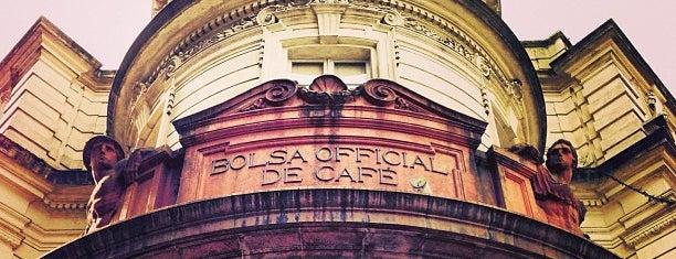 Museu do Café - Edifício da Bolsa Oficial de Café is one of Café & Boulangerie.