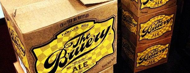 The Bruery is one of Beer / RateBeer's Top 100 Brewers [2015].