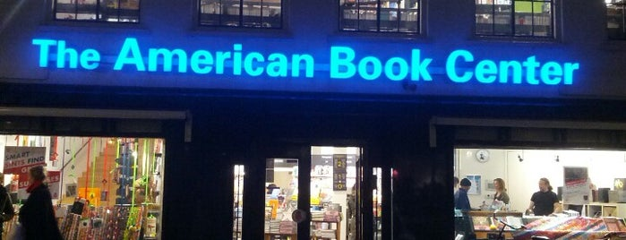 The American Book Center is one of Amsterdam Expat Life: Mission list.