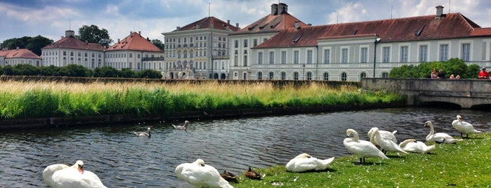 Nymphenburg Palace is one of München.
