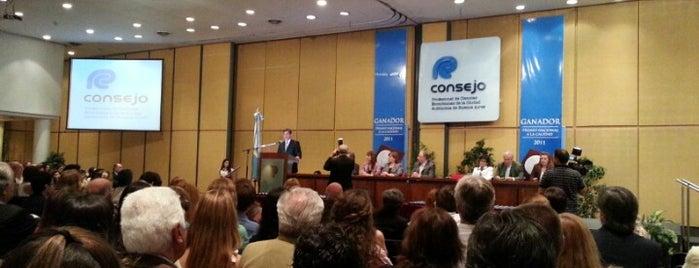 Consejo Profesional de Ciencias Económicas de la Ciudad Autónoma de Buenos Aires is one of LUGARES VISITADOS.