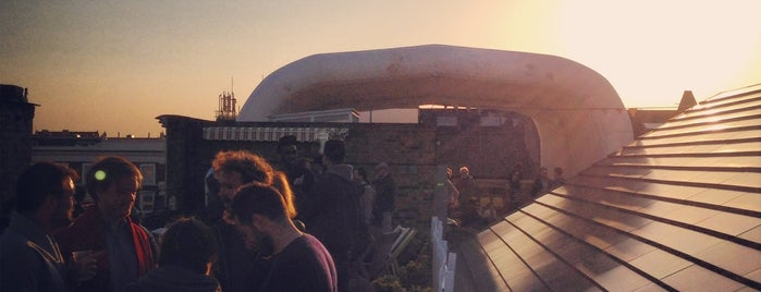 Dalston Roof Park is one of London Bars & Clubs.