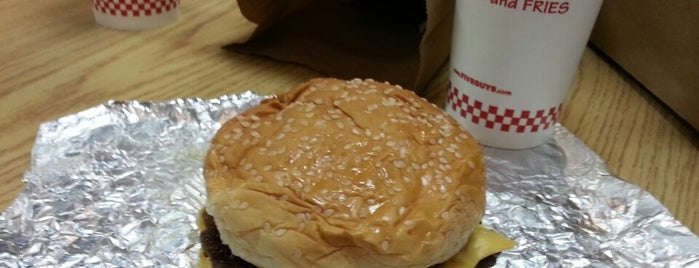 Five Guys is one of Must-visit Food in Madison.