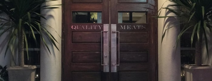 Quality Meats Restaurant is one of Miami ☀️🌊🚤.