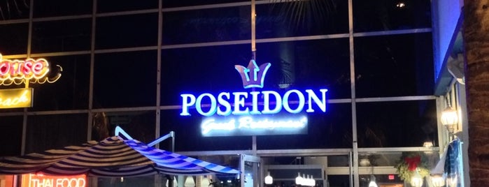 Poseidon Greek Restaurant & Outdoor Lounge is one of The 15 Best Places for Swordfish in Miami Beach.