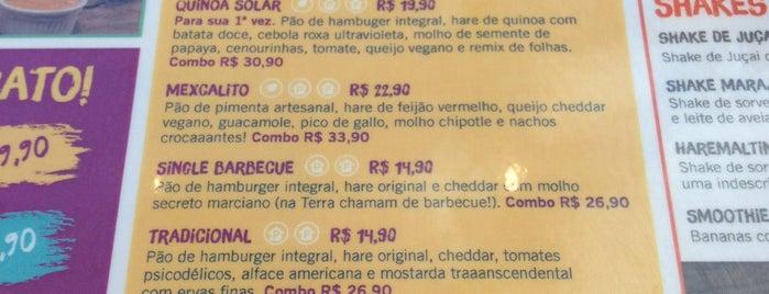 Hareburger is one of RIO - Quero ir.