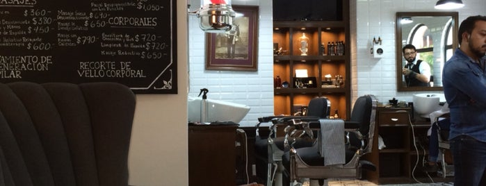 The Barber's Spa México (Polanco Platinum) is one of Hipsterland.