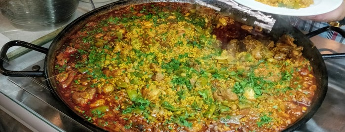 Paella bar is one of Want to Try.