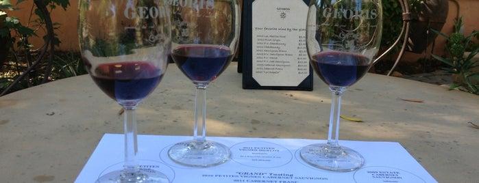 Georis Winery Tasting Room is one of Beyond the Peninsula.