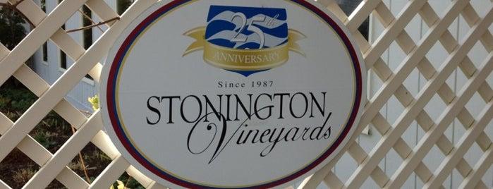 Stonington Vineyards Inc is one of Connecticut Farm Wineries 2012 Passport.