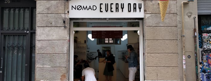 NØMAD Every Day is one of Barcelona.