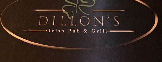 Dillon's Irish Pub & Grill is one of Recommendations from you to me 4square and 4cast.