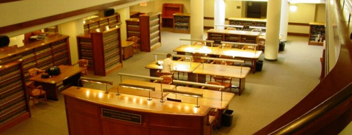 NYU Law School Library is one of NYU Libraries.