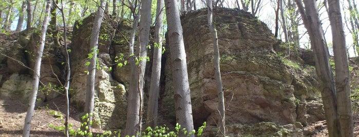 Zsivány szikla is one of Budai hegység/Pilis.