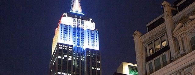 Edificio Empire State is one of New York.