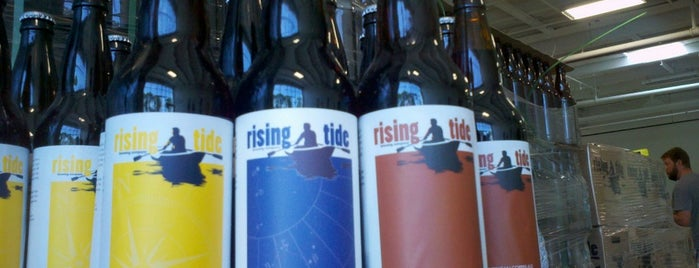Rising Tide Brewing Company is one of America's Best Breweries.