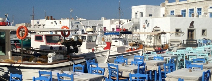 Naoussa Port is one of Paros Top.
