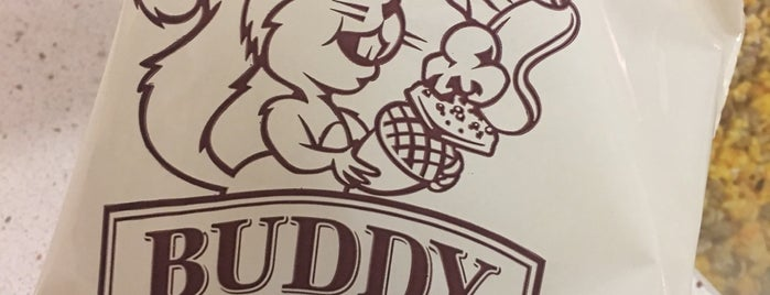Buddy Squirrel is one of Guide to Greenfield's best spots.