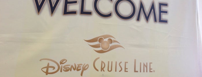 Disney Wonder Cruise Ship is one of Los Angeles World Cruise Center.